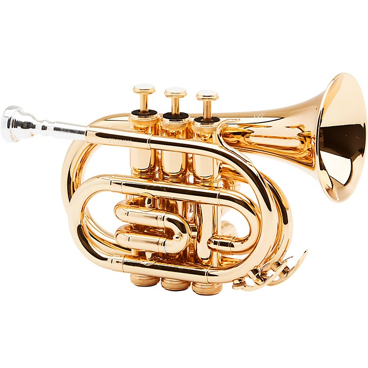 AlloraMXPT-5801 Series Pocket TrumpetGold Plated