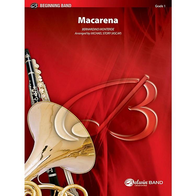 AlfredMacarena Concert Band Grade 1 Set