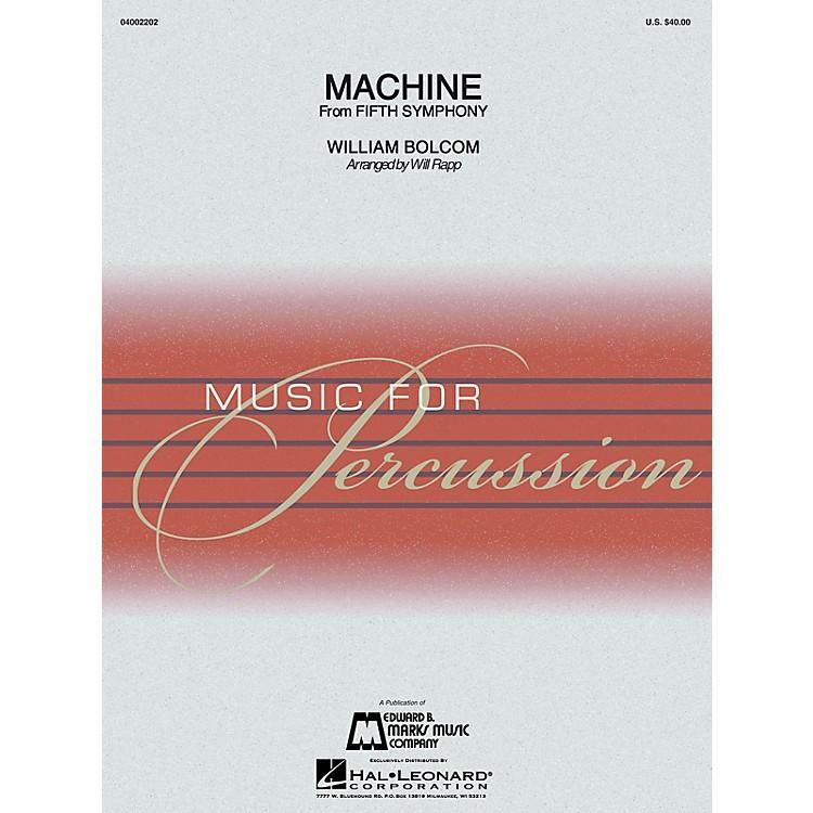 Hal LeonardMachine (Percussion Ensemble) Concert Band Level 4