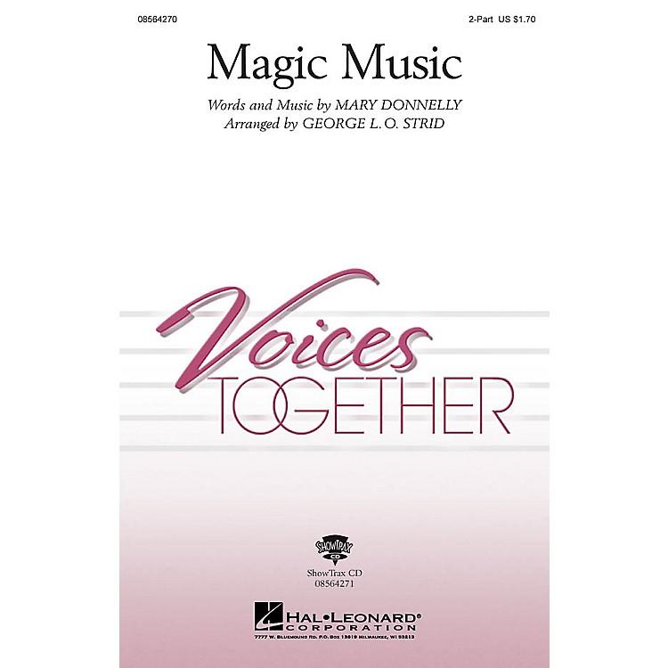 Hal LeonardMagic Music ShowTrax CD Arranged by George L.O. Strid