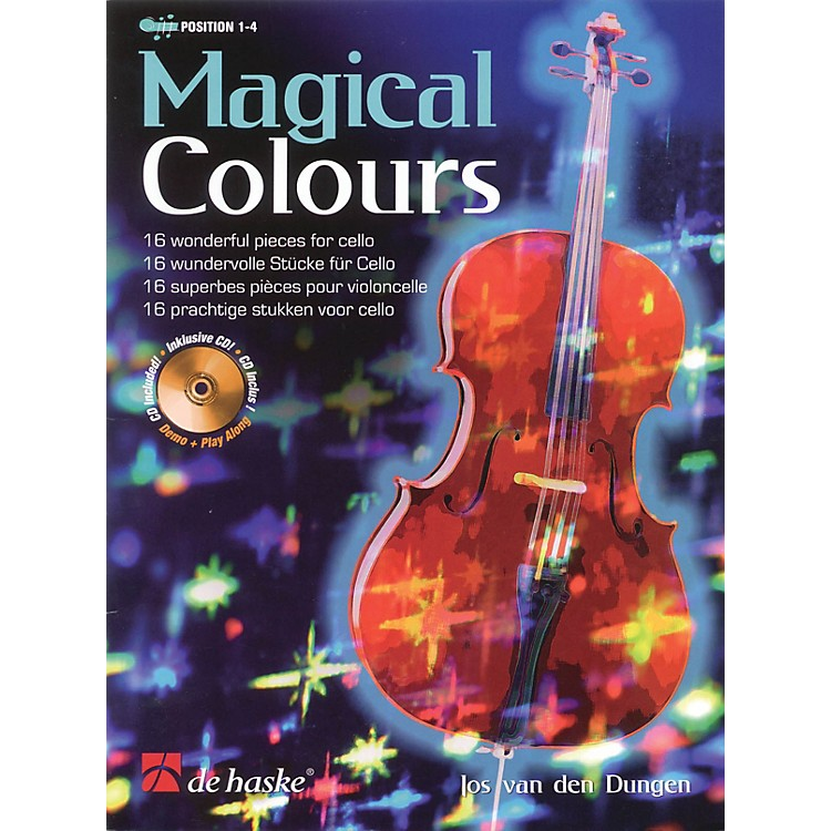 De Haske Music Magical Colours De Haske Play-Along Book Series Softcover with CD Written by Jos van den Dungen