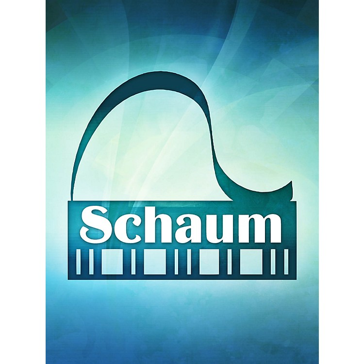SCHAUMMagnet: Keyboard W/notes Educational Piano Series Softcover