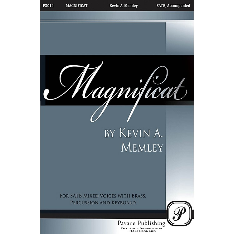 PavaneMagnificat (Brass Quintet Parts on CD) Parts Composed by Kevin Memley