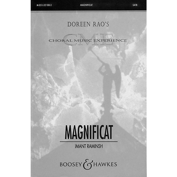 Boosey and HawkesMagnificat SATB Divisi composed by Imant Raminsh