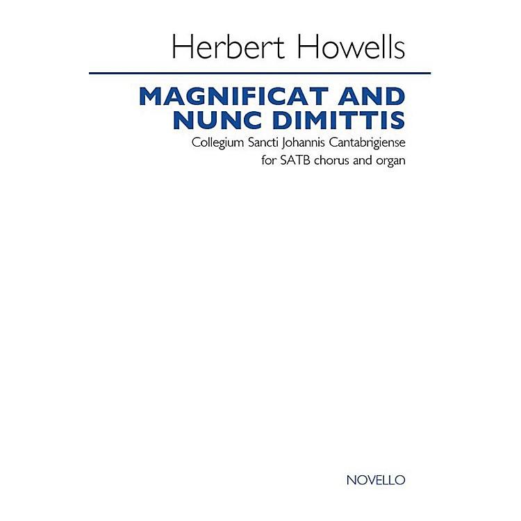 NovelloMagnificat and Nunc Dimittis (Collegium Sancti Johannis Cantabrigiense) SATB Composed by Herbert Howells