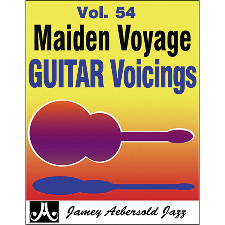 Jamey Aebersold Maiden Voyage Guitar Voicings Play-Along Book and CD