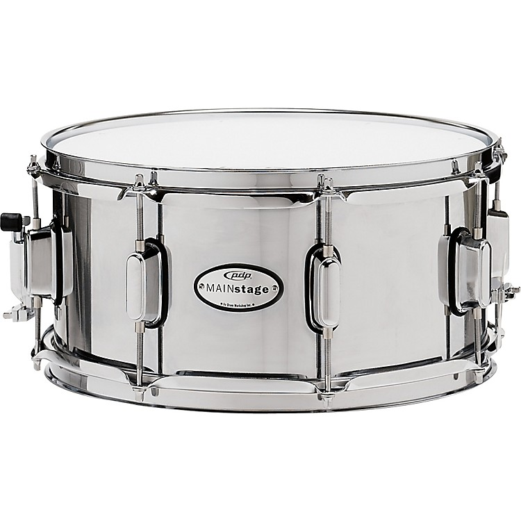PDP by DWMainstage Chrome over Steel Snare