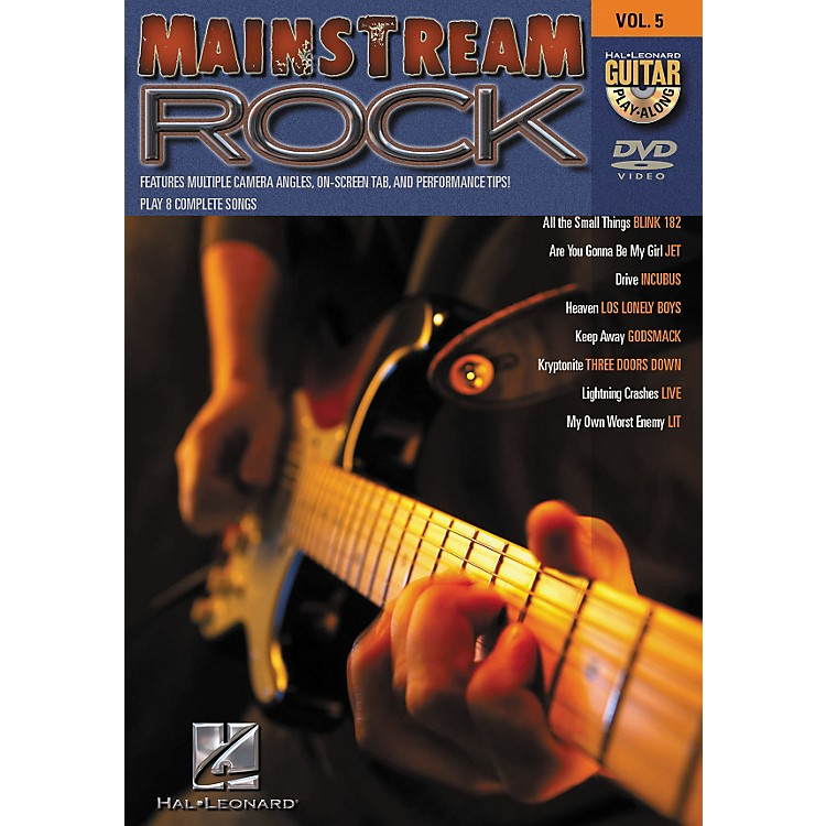 Hal LeonardMainstream Rock Guitar Play-Along Series Volume 5 DVD