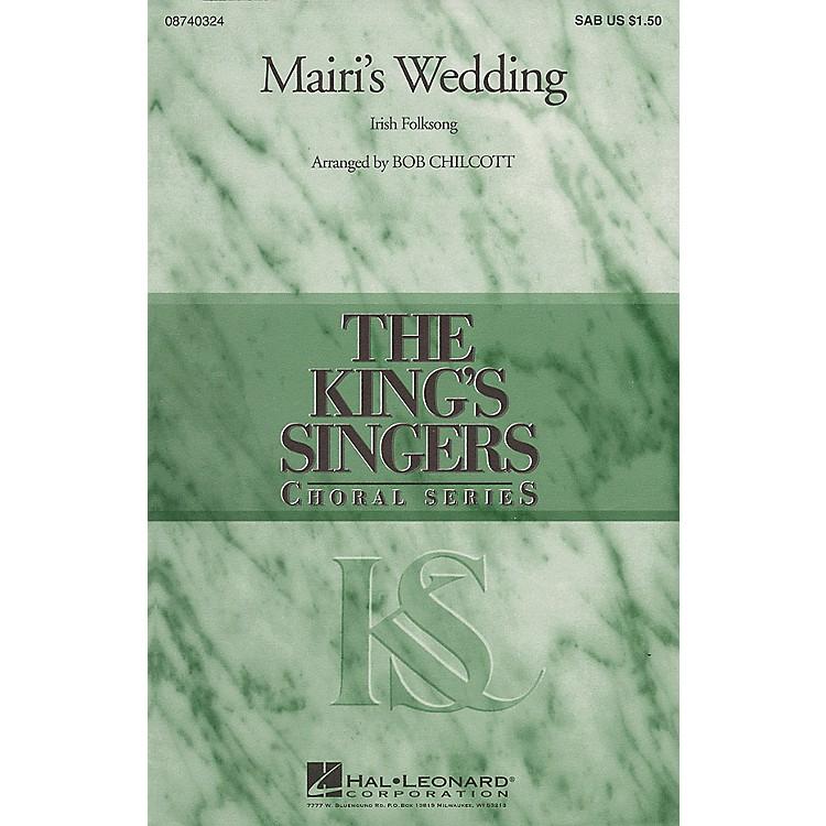 Hal LeonardMairi's Wedding SAB by The King's Singers arranged by Bob Chilcott
