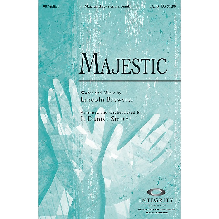 Integrity MusicMajestic Accompaniment/Split Track CD by Lincoln Brewster Arranged by J. Daniel Smith