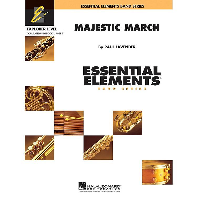 Hal LeonardMajestic March Concert Band Level 0.5 Composed by Paul Lavender