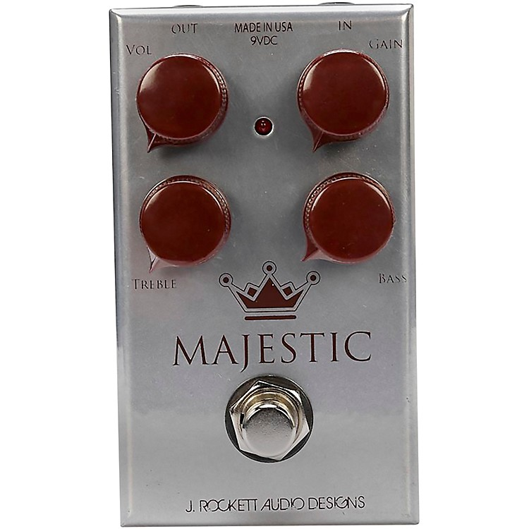 Rockett Pedals Majestic Overdrive Effects Pedal