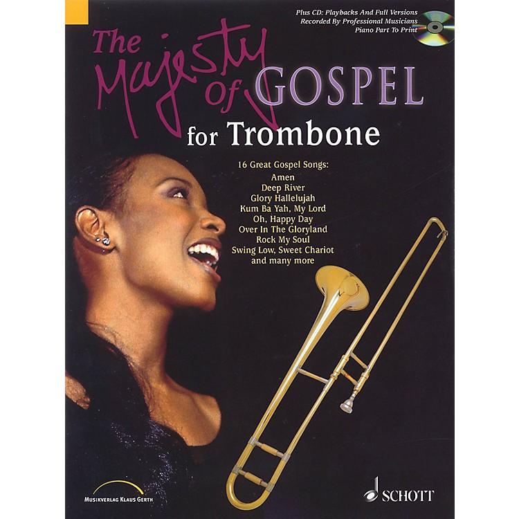 SchottMajesty of Gospel (Trombone) Schott Series Softcover with CD