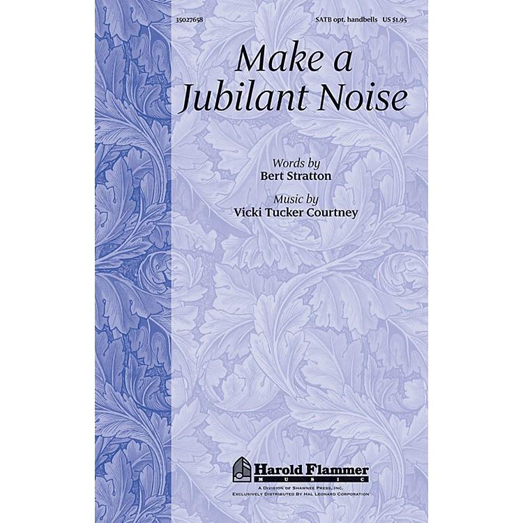 Shawnee PressMake a Jubilant Noise SATB, ORGAN, HANDBELLS composed by Vicki Tucker Courtney