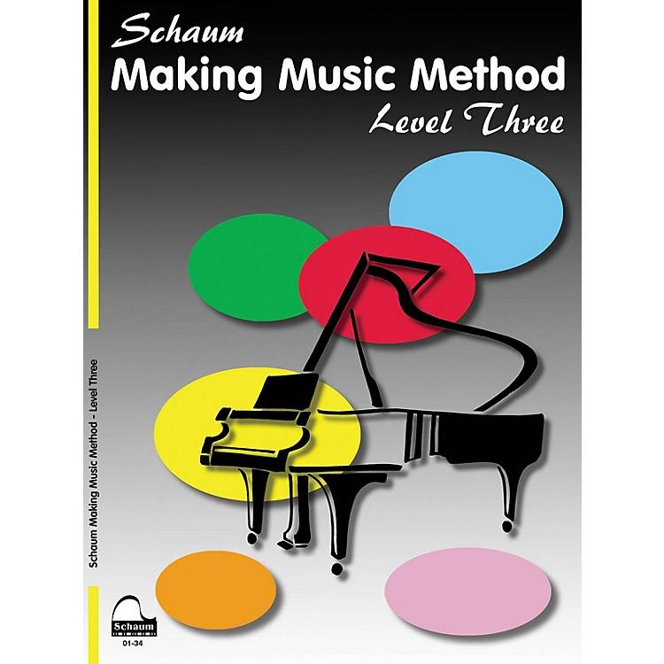 SCHAUMMaking Music Method Educational Piano Book by John W. Schaum (Level Early Inter)