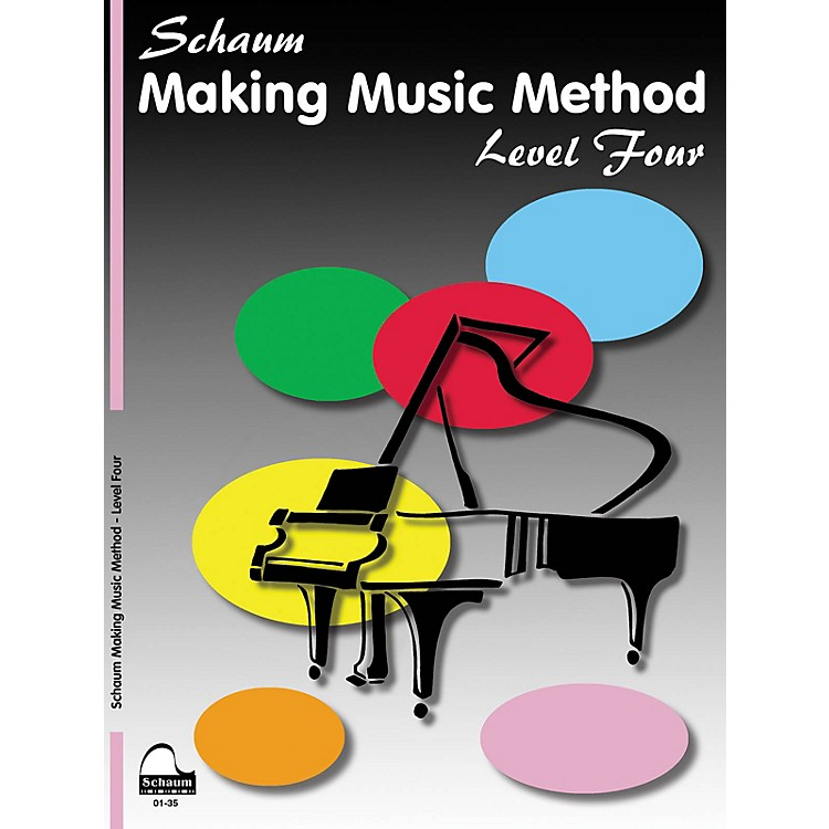 SCHAUMMaking Music Method (Level 4 Inter Level) Educational Piano Book by John W. Schaum