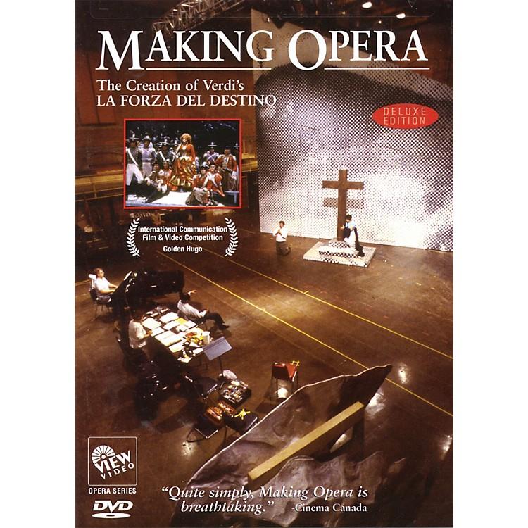 View VideoMaking Opera - The Creation of Verdi's La Forza Del Destino Live/DVD Series DVD