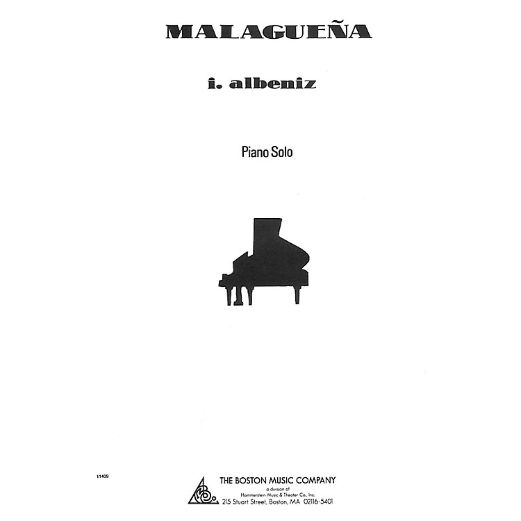 Music Sales Malaguena Music Sales America Series