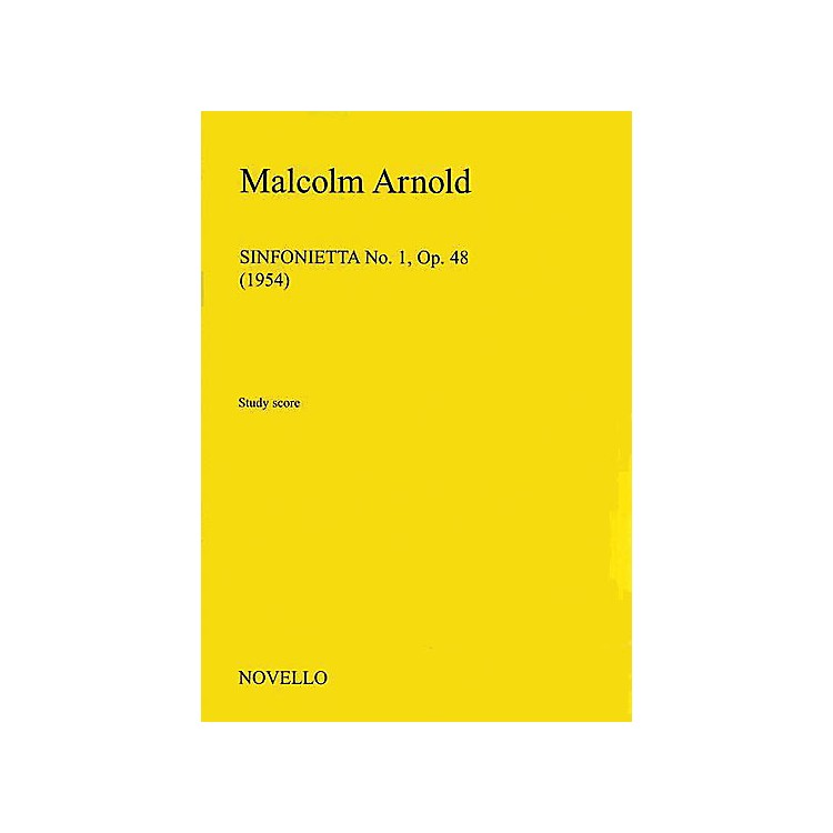 Music Sales Malcolm Arnold: Sinfonietta No.1 Op.48 Music Sales America Series