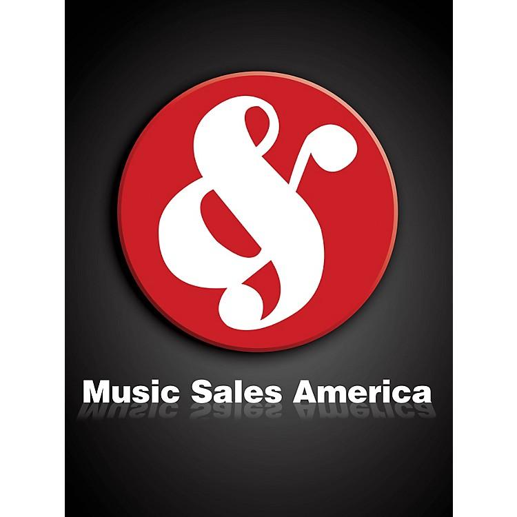 Music SalesMalipiero Epodi E Giambi Cham Parts Book Music Sales America Series