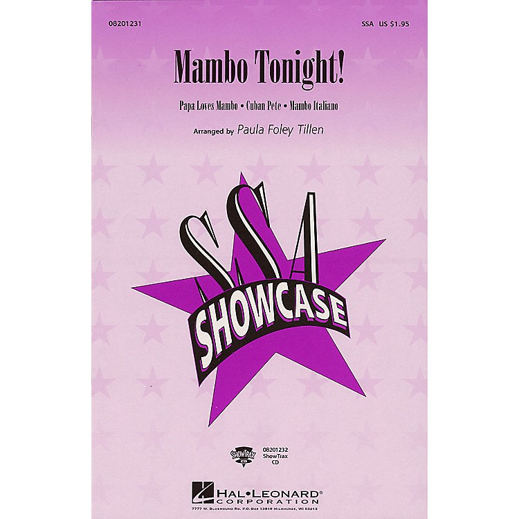 Hal Leonard Mambo Tonight! (Medley) SSA arranged by Paula Foley Tillen