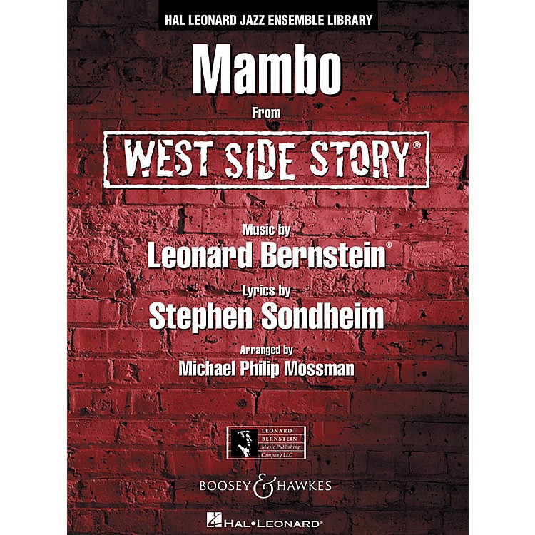 Leonard Bernstein Music Mambo (from WEST SIDE STORY) Jazz Band Level 4 Arranged by Michael Philip Mossman