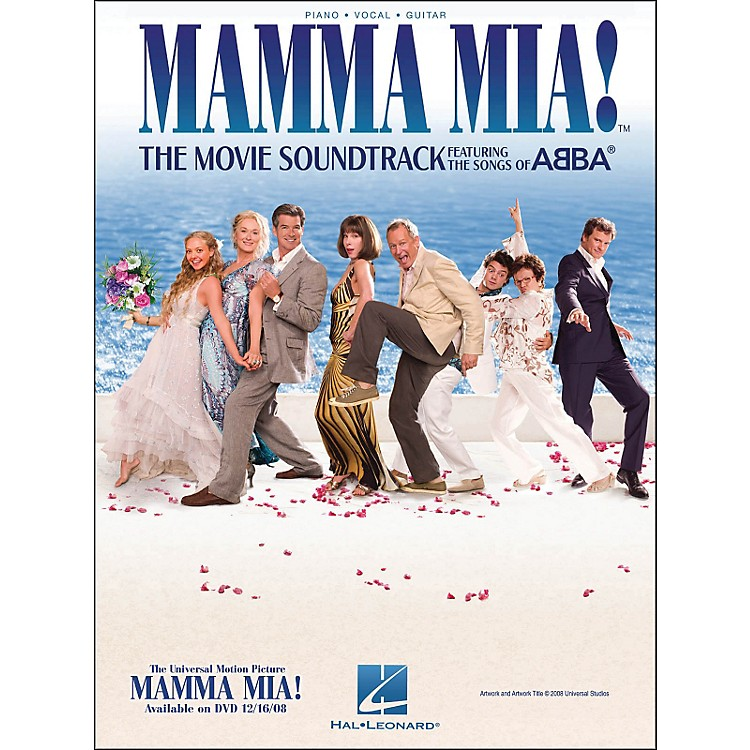 Hal LeonardMamma Mia The Movie Soundtrack arranged for piano, vocal, and guitar