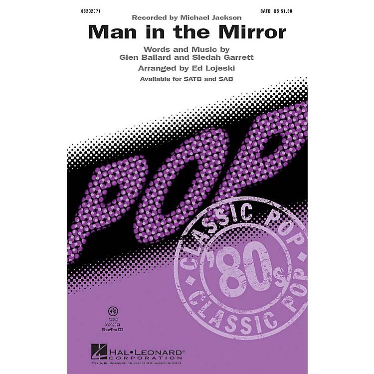 Hal LeonardMan in the Mirror TTBB by Michael Jackson Arranged by Ed Lojeski