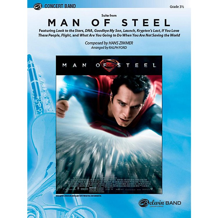 AlfredMan of Steel, Suite from Concert Band Level 3.5 Set