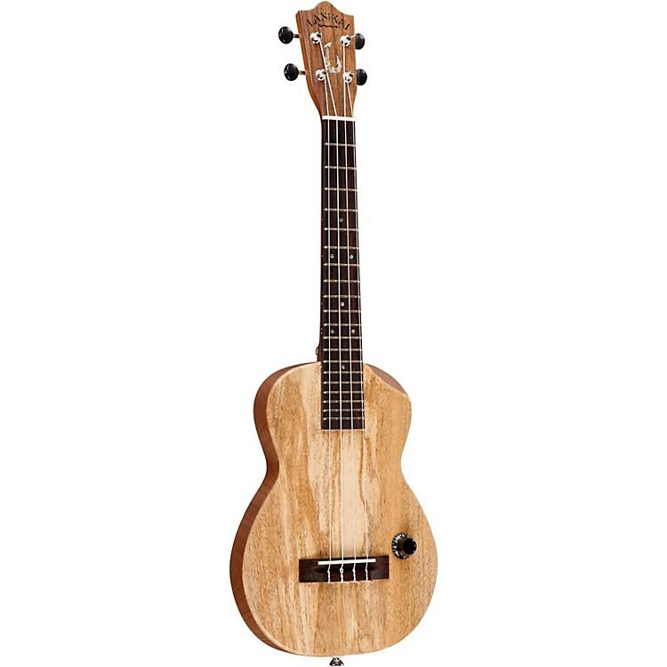 LanikaiManana-T Hawaiian Solid Body Acoustic-Electric Tenor UkuleleMango Top