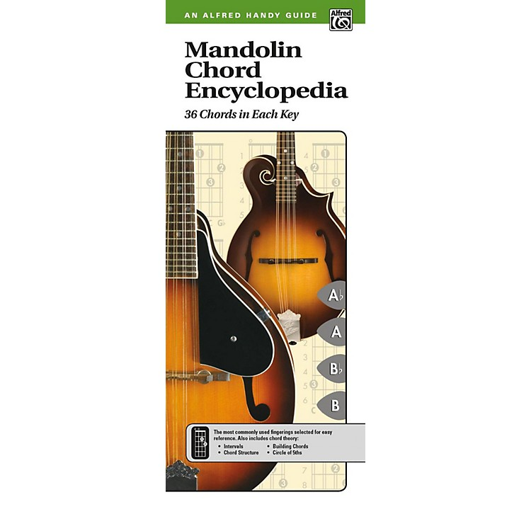 AlfredMandolin Chord Encyclopedia (2nd Edition) Comb Bound Handy Guide