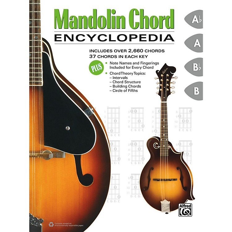 Alfred Mandolin Chord Encyclopedia Book