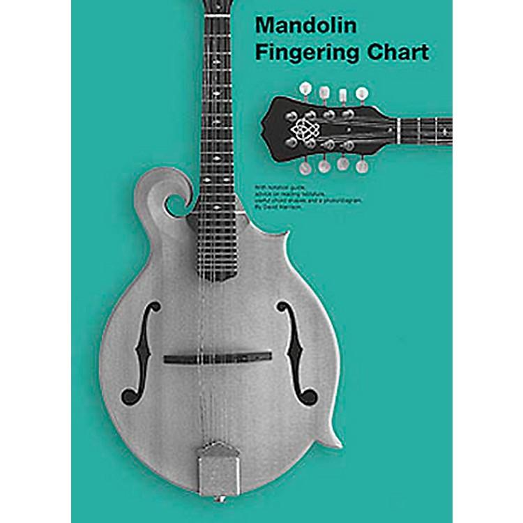 Music SalesMandolin Fingering Chart