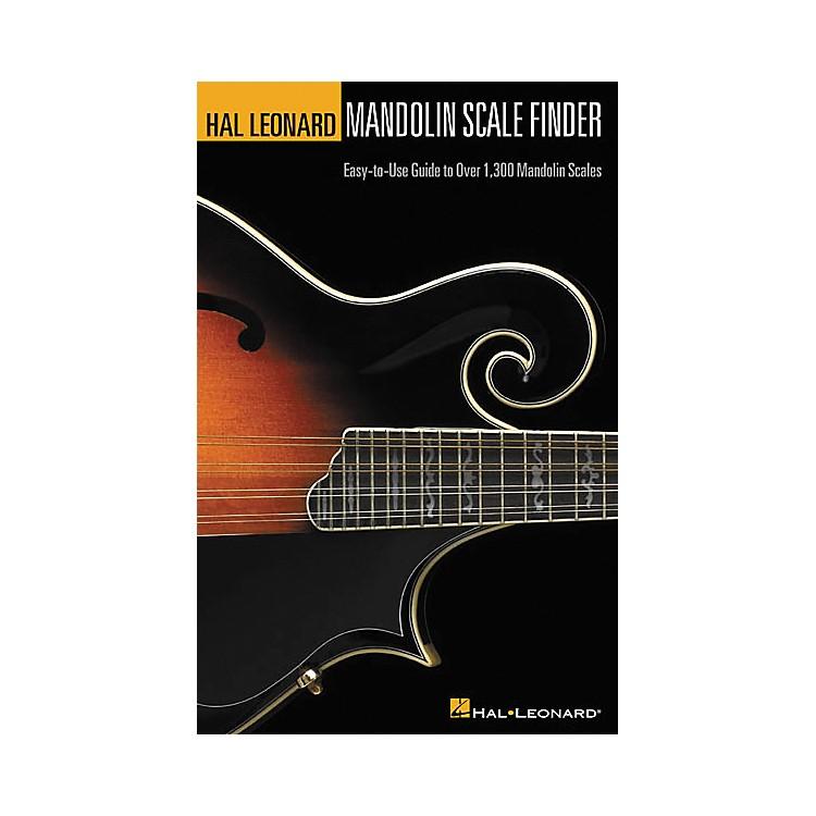 Hal LeonardMandolin Scale Finder 6x9 Book