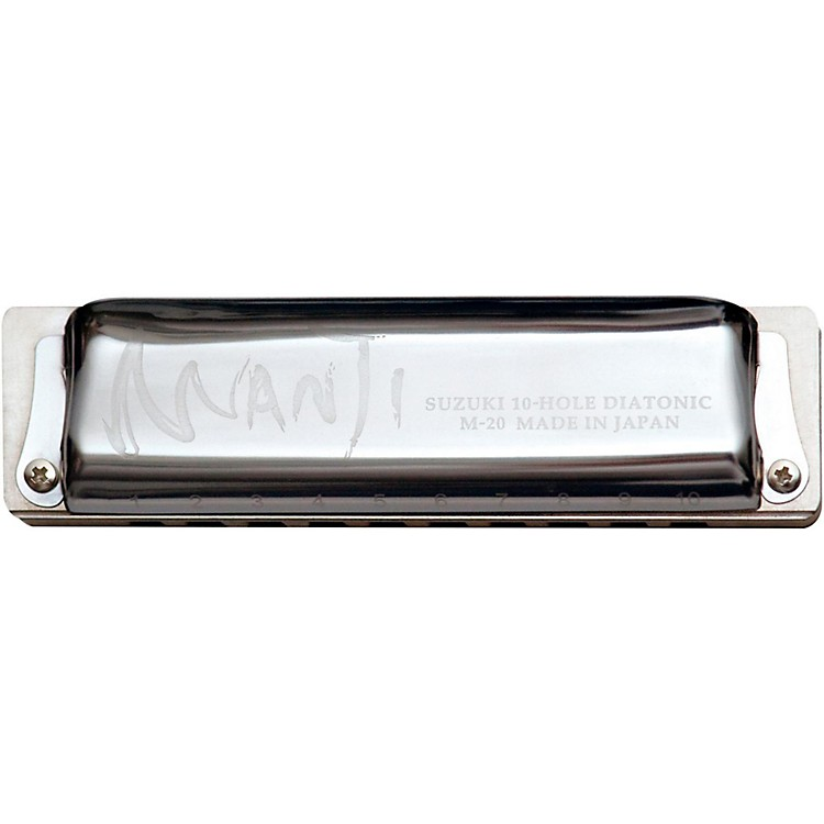 Suzuki Manji Country Tuned Harmonica Bb