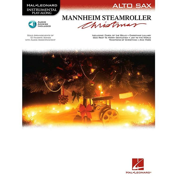 Hal LeonardMannheim Steamroller Christmas For Alto Sax - Instrumental Play-Along (Bk/Audio)