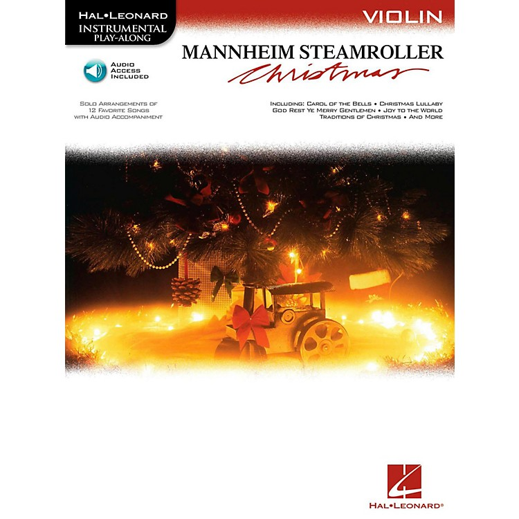 Hal Leonard Mannheim Steamroller Christmas For Violin - Instrumental Play-Along (Bk/Audio)