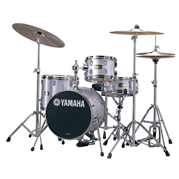 Yamaha Manu Katche Signature Jr. Drum Set Silver