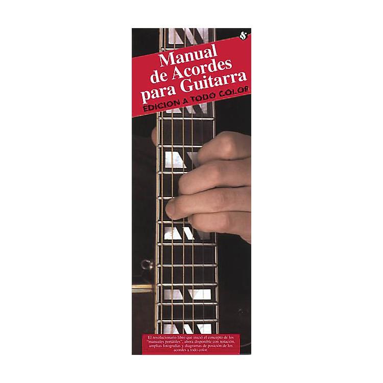 Music SalesManual De Acordes Para Guitarra (Edicion A Todo Color) Music Sales America Series Softcover by Various