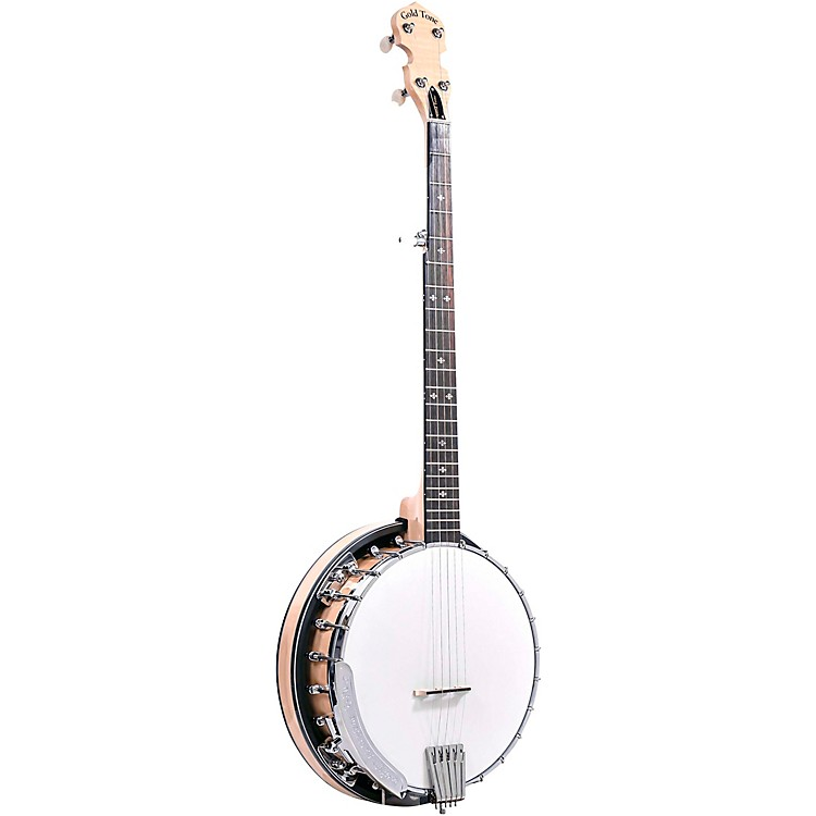 Gold ToneMaple Classic Banjo with Steel Tone RingGloss Natural