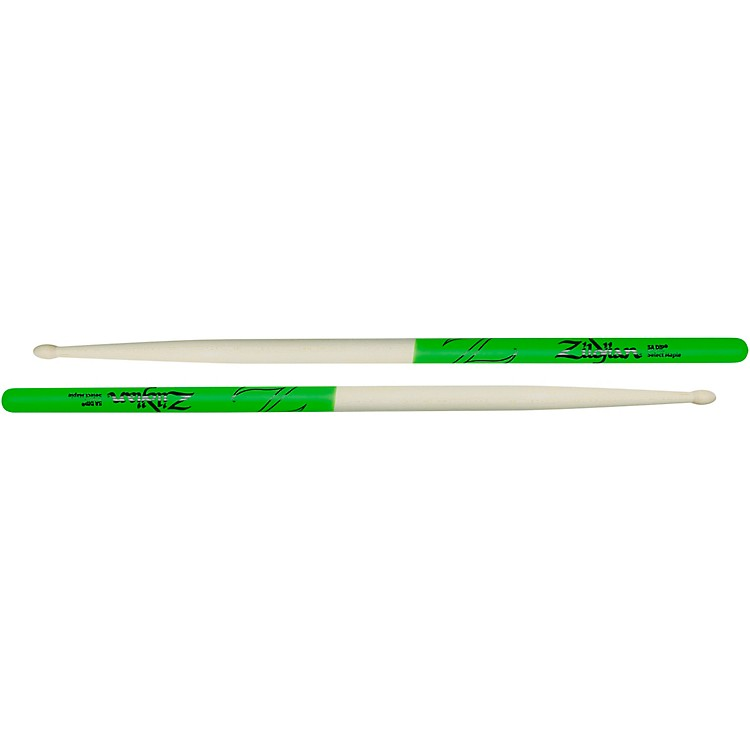 Zildjian Maple Green DIP Drum Sticks 5B Wood