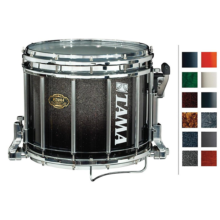Tama Marching Maple Snare Drum Red Sparkle Fade 9x14