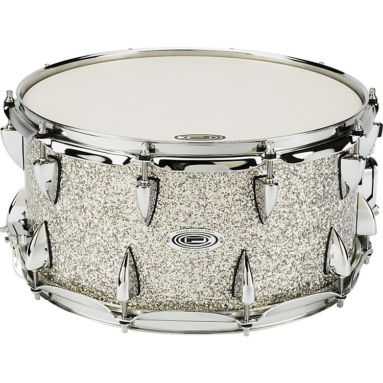 Orange County Drum & PercussionMaple Snare7 x 14, Silver Sparkle