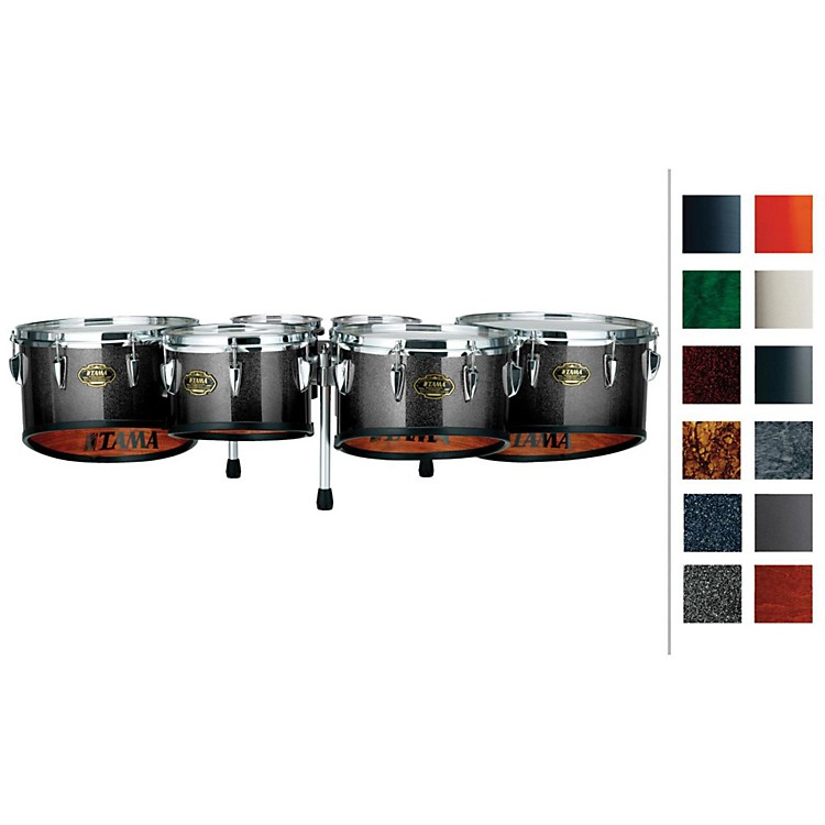 Tama Marching Maple Tenor Sextet Dark Cherry Fade 6