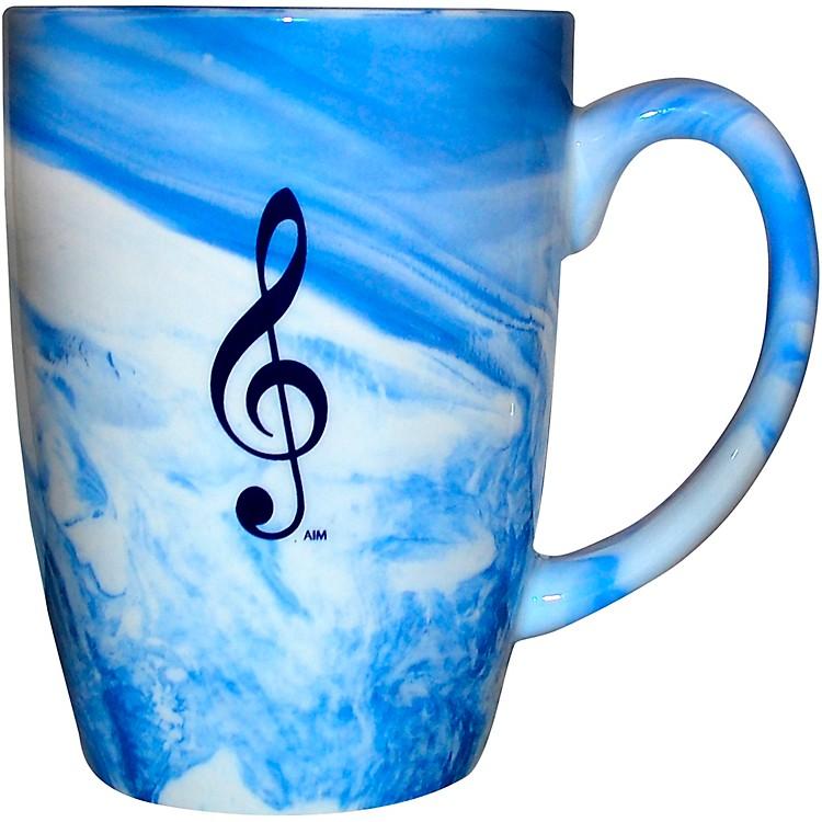AIMMarbleized Blue Mug