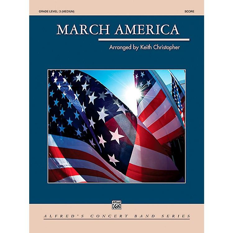 AlfredMarch America Concert Band Grade 3 (Medium)