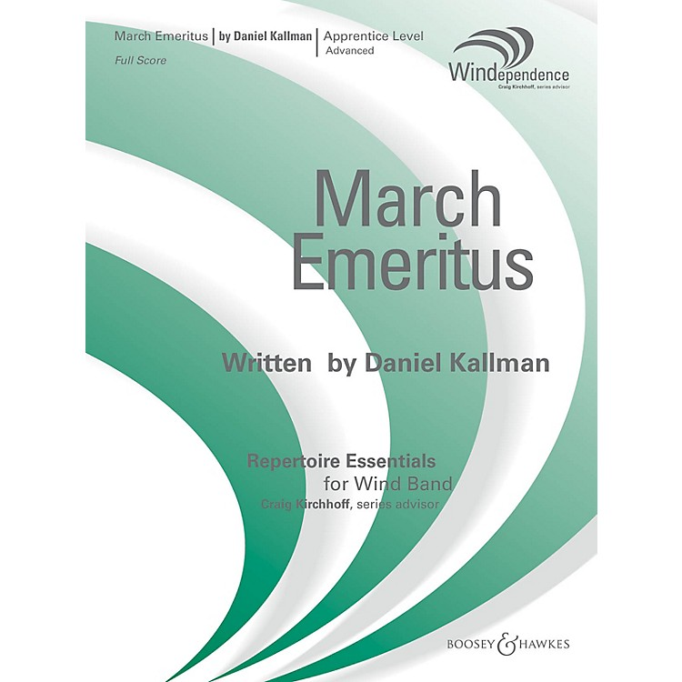 Boosey and HawkesMarch Emeritus (Score Only) Concert Band Level 3 Composed by Daniel Kallman