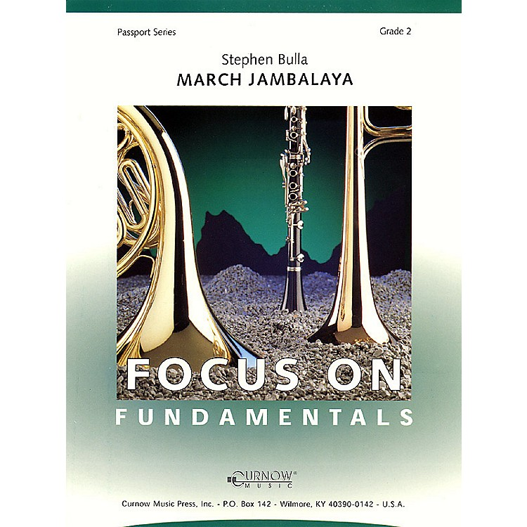 Curnow MusicMarch Jambalaya (Grade 2 - Score Only) Concert Band Level 2 Composed by Stephen Bulla