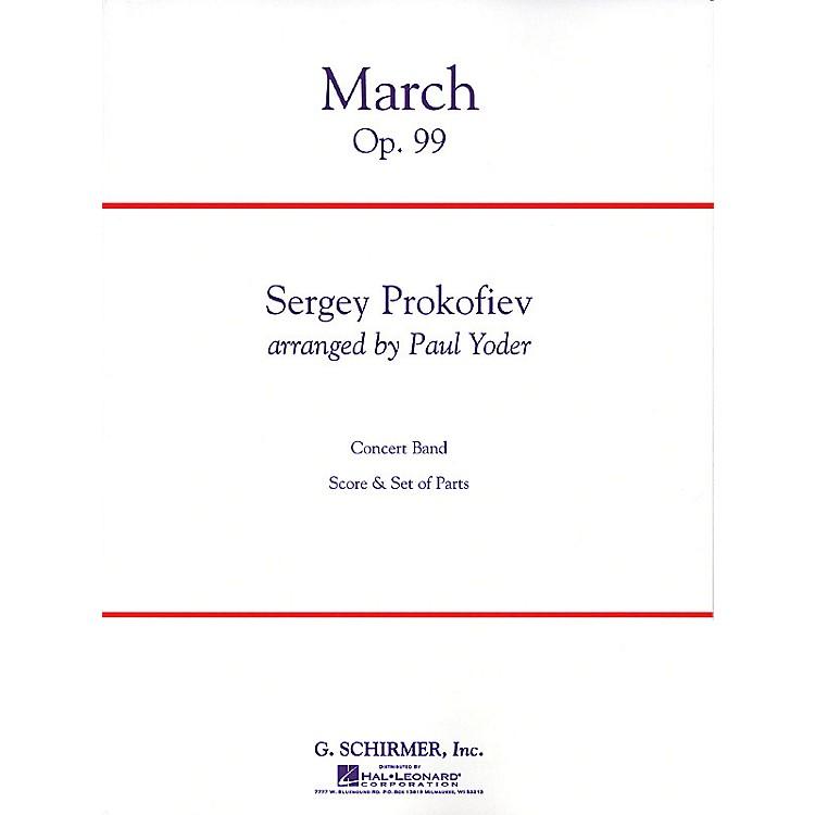 G. SchirmerMarch Op. 99 Condensed Score Concert Band