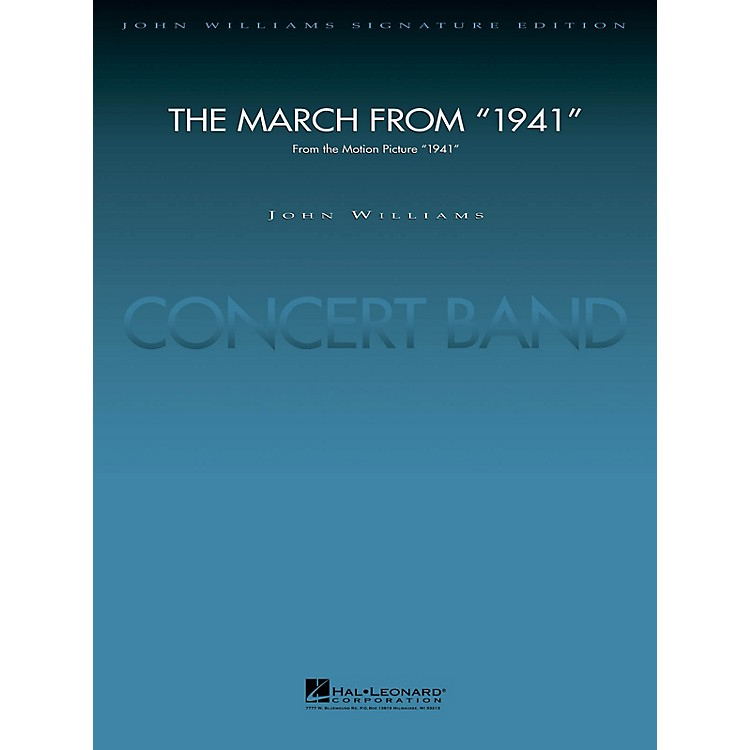 Hal Leonard March from 1941 (Deluxe Score) Concert Band Level 5 Arranged by Paul Lavender